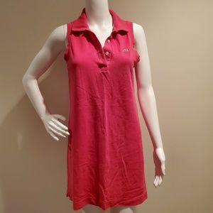 Lacoste Pique Polo Sleeveless Dress 40/8